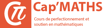 Cours particuliers de maths - Stages intensifs de maths - Niveaux Collège, Lycée, Maths Sup PCSI PTSI MPSI, Maths Spé PC PT MP, ECE, ECS, ECT, BCPST, Université, BTS - Paris, Toulouse, Lyon, Bordeaux, Lille, Marseille, Nice